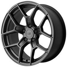 4-NEW Motegi MR133 18x8.5 5x114.3 +35mm Satin Black Wheels Rims