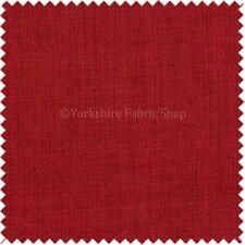 Telas de tapicería color principal rojo para costura y mercería