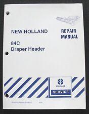 GENUINE NEW HOLLAND 84C DRAPER HEAD HEADER SERVICE REPAIR MANUAL MINTY