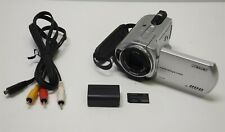 Silver Sony Handycam DCR-SR42 30GB HDD Camcorder Camera Pro Duo 40x Bundle