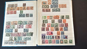 CHINA STOCKBOOK with 1,100 STAMPS