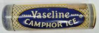 Vtg Vaseline Camphor Ice Metal Tube Tin Chapped Hands & Lips Chesebrough Pond's