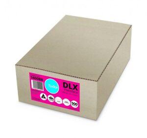 DLX Envelopes - 120x235 - 500 pcs - Plainface Lick'n'Stik Non-Secretive (89186)