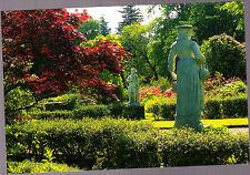 Vintage unused  Postcard Scotland,  Garden statues, Torosay Castle, Isle of Mull