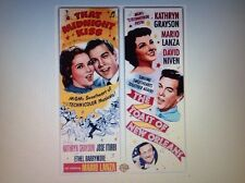 1 Mario Lanza - That Midnight Kiss &  The Toast of New Orleans DVDs