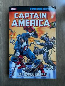 NEW! Captain America Epic Collection - Vol. 15: Bloodstone Hunt - Rare OOP TPB