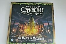 CALL of CTHULHU, The Card Game: The Mark of Madness Expansion - LCG - New Sealed