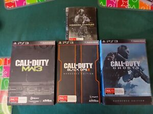 Call Of Duty Hardened Edition Collection PS3 MW Ghost Black Ops