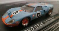 1/43 FORD GT40 GT 40 24H LE MANS 1969 J. ICKX OLIVER COCHE DE METAL A ESCALA