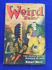 WEIRD TALES. SEPTEMBER, 1945 - FIRST EDITION SIGNED BY CONTRIBUTOR RAY BRADBURY