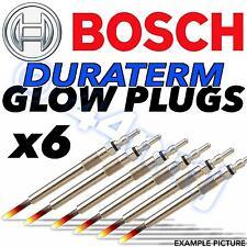 6x BOSCH Duraterm Diesel D Heater Glow Plugs JEEP GRAND CHEROKEE 3.0 CRD 05-->