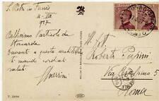 Autografo di Giovanni Guerrini Architetto Pittore Articolo Papini Stoccarda 1927