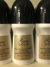 AVON Rare Gold Roll ON large LOT of 10 plus FREE 3 Day SHIPPING