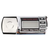0.01g - 100g Mini LCD Digitale Schmuck Skala elektronische Waage Praezision G1H9