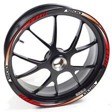 ESES Pegatina llanta Moto Guzzi Norge 1200 GT 1200GT 1200-GT  Rojo adhesivo cint