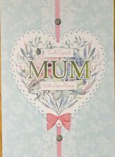 Mum, Mother Birthday Cards - Handmade - Mother's Day, Special Mom, With Love