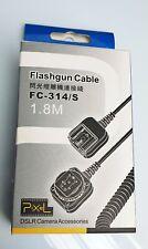 Pixel Blitzgerät Kabel FC-314/S für Panasonic/Olympus