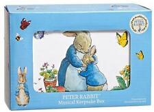 Peter Rabbit ~ Musical Keepsake Box ~ Plays Brahms' Lullaby When Opened ~ New