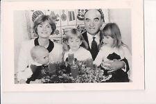 Photo Card Johannes, 11th Prince of Thurn & Taxis, Wife Princess Gloria & Family
