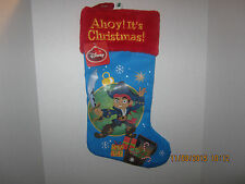 Disney Christmas Stocking  YOHOHO JAKE & THE NEVERLAND PIRATE CREW NEW WITH TAGS