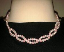 Kette/Collier mit Armband - Süßwasser Zucht Perlen