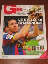 GUERIN SPORTIVO 2010/8 GS STORIE LE STELLE DI CHAMPIONS LEO MESSI BARCELONA