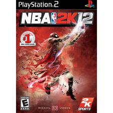 NBA 2K12 (Covers May Vary), Very Good PlayStation2, Playstation 2 Video Games