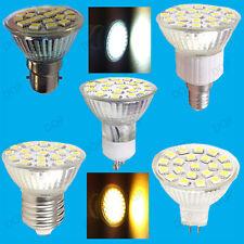 4.8W Led Ampoules Spot Éclairage GU10 MR16 E14 E27 B22 Blanc Chaud ou Lumière
