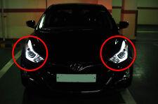 Genuine OEM LED DRL Projection Head Lamp Lights For 2011~2015+ Hyundai Elantra