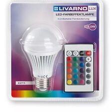 Led couleur effet lampe avec télécommande