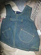 Corolle vétement poupée 42 .48 cm robe jeans