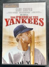 The Pride of the Yankees movie Starring Gary Cooper DVD no scratches
