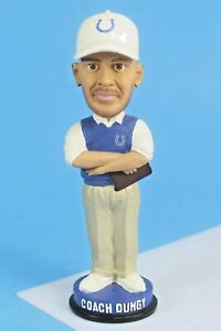 Indianapolis Colts Hall Of Fame Head Coach Tony Dungy Bobblehead.