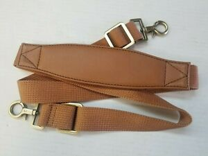 Hartmann Luggage Replacement Shoulder Strap Vinyl w/ Nylon Webbing for Luxe