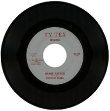"""DONNIE CARL  """"HEART ATTACK c/w IF YOU WANT IT THAT WAY""""   NORTHERN SOUL  LISTEN!"""