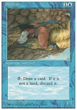 4x Sindbad 4th Edition MtG Magic Blue Uncommon 4 x4 Card Cards