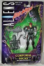 Aliens Hive Wars Corporal Hicks Figure With Cyborg Dog & Blaster MOC Kenner 1998