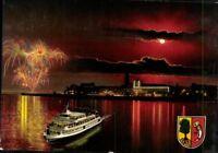 Postkarte AK PK bunt Ansichtskarte ungelaufen Friedrichshafen am Bodensee