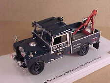 TrueScale 1/43 Resin 1957 Land Rover Series 1 Tow Truck, Barnes Garage TSM154358