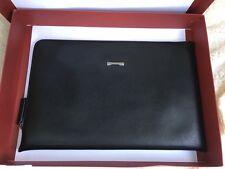 salvatore ferragamo Men's Document Case Clutch Color- Black $460