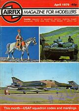 ROYAL AIR FORCE JAGUARS RAF COLTISHALL ... AIRFIX Magazine April 1979