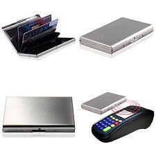 Men Women Aluminum Slim ID Credit Card RFID Protector Holder Purse Wallet UK