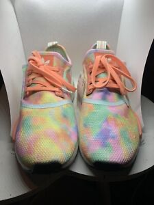 Adidas NMD R1 W Tie Dye Multi-Color FY1271 Women's Shoes Sneakers