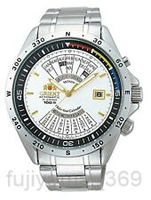 ORIENT SEU03002WH Automatic Multiyear calendar Watch Free shipping from Japan