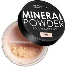 Gosh mineral polvo base 002 Marfil Frasco con plumero
