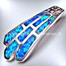 Runde Echte Edelstein-Halsketten & -Anhänger mit Opal für Damen