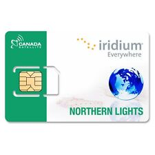 Iridium Northern Lights (Canada / Alaska) Prepaid Airtime 200 Minute SIM