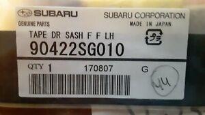 Subaru Forester Front Door Black Out Tape Left LH 90422SG010 NIP OEM 2014-2016
