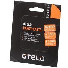 OTELO VOICE BASIC SIM-KARTE MIT 5 EURO STARTGUTHABEN PREPAID-KARTE OHNE VERTRAG