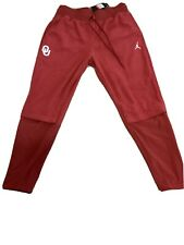 New Air Jordan Oklahoma Sooners Football Sideline Therma Pants 36577XOK5  Sz L